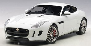 White Jaguar F-Type 2015 R Coupe Polaris-White Die-Cast AUTOart 73651 Scale 1:18