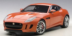 Orange Jaguar F-Type 2015 R Coupe Fire-sand Die-Cast AUTOart 73653 Scale 1:18