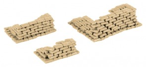 Sandags 200 pieces 745833 Herpa diorama accessories scale HO 1:87