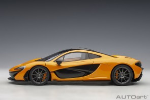 McLaren P1 Papaya Spark die-cast AUTOart Model 76063 scale 1:18