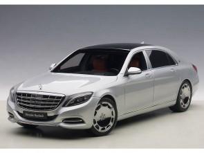 Maybach Mercedes S-Klasse Silver (S600) Die-Cast AUTOart 76292 Scale 1:18