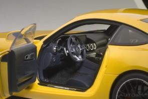 Yellow Mercedes AMG GT S Die Cast AUTOart 76314 Metallic Model Scale 1:18