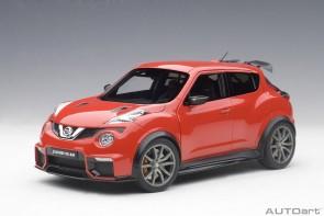 Red Nissan Juke R 2.0 AUTOart 77457 die cast Scale 1:18