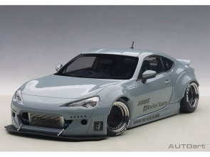 Toyota 86 Concrete Grey Rocket Bunny w/Black Wheels AUTOart 78759 1:18