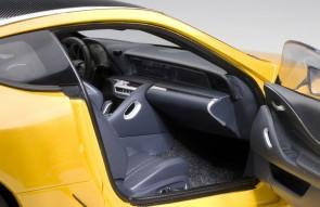 Metallic yellow Lexus LC500 AUTOart 78847 die cast AUTOart scale 1:18