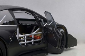 Sale! Peugeot 206 T16 Pikes Rade Car 2013 Black/Composite AUTOart 81356 Die-Cast Scale 1:18