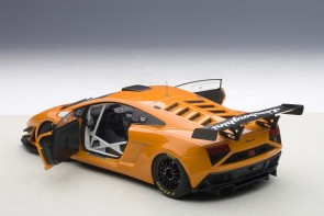Sale! Lamborghini Gallardo GT3 2013 Orange Composite 2 Door AUTOart 81357 AUTOart 1:18