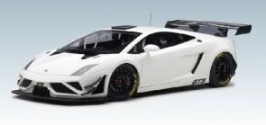 White/Composite Lamborghini Gallardo GT3 2013 FL2 AUTOart 81358 AUTOart 1:18