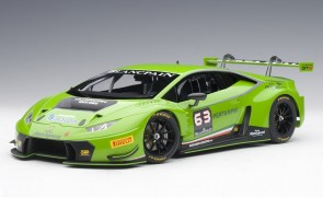 Pearl Green Lamborghini Huracan GT3 four layer paint AUTOart 81529 1:18