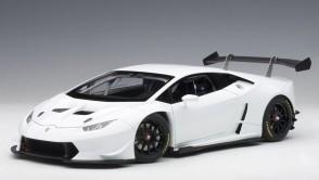 White Lamborghini Huracan Super Trofeo 2015 AUTOart 81557 scale 1:18