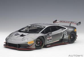 Dark grey Lamborghini Huracan Super Trofeo 2015 #63 AUTOart 81559 scale 1:18