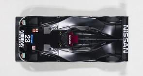 Nissan GT-R LM Nismo 2015 Black Test Car Composite 81577 Scale 1:18