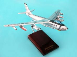 Executive Series B-47E Stratojet in 1:100 scale crafted out of Mahogany