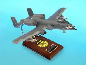 USAF A-10a Warthog Scale 1:40 United States Air Force A-10a awrthog  Scale 1:40 Mahogany or Resin carved model