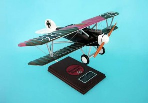 "Albatross D-V ""GORING"" ESFN002W by Executive Series Scale 1:20 Desktop model by Executive series Carved in mahoganhy or resin"