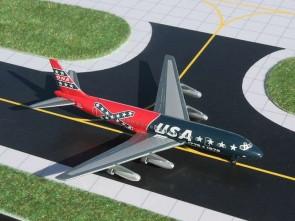 Ona DC-8-21 Confederate Livery GJONA563 Gemini Jets scale 1:400