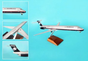 Aeromexico MD-80 Skymarks SKR8603 wood stand Stand & Gear scale 1:100