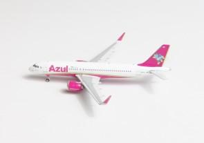 Azul Brasil Pink Airbus A320 PR-YRS Phoenix 11540 die-cast model scale 1:400