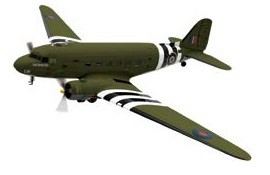 Douglas C-47 Dakota Kwicherbichen Battle of Britain Memorial Flight Corgi Aviation CG38208 Scale 1:72