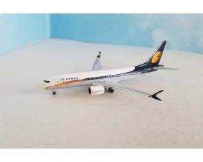 Jet Airways Boeing 737-MAX-8 VT-JXB AeroClassics AC419802 scale 1:400