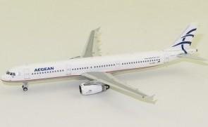 Aegean Airbus A321 SX-DNH Phoenix 11576 die-cast scale 1:400