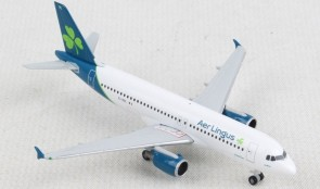 "Aer Lingus Airbus A320 EI-DVL New Livery ""St Moling"" Herpa Wings 533690 scale 1:500"