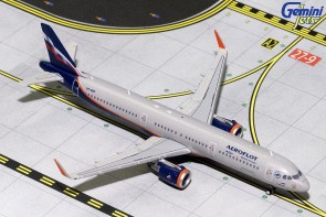 Aeroflot Airbus A321 Sharklets VP-BAF Аэрофлот Gemini Jets GJAFL1497 scale 1:400