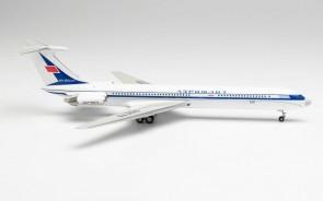 Aeroflot Ilyushin IL-62M Le-Bourget 1971 50th Anniversary CCCP-86673 Илью́шин Ил-62 Herpa 571524 scale 1:200