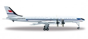 Aeroflot Tupolev TU-114 CCCP-76482 50's-60's Аэрофлот Herpa 523073-001 1:500