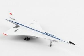 Aeroflot Tupolev TU-144S Supersonic CCCP-77109 Herpa 533324 Scale 1-500