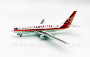 Aerosucre Carga Colombia Boeing 737-200 HK-4328 JP-60/El Aviador/InFlight with stand JP60-732-6N-4328 scale 1:200