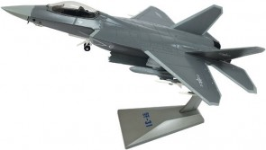 Shenyang J-31 Chinese Test Stealth Fighter by Air Force One AF1-0131 Scale 1:72