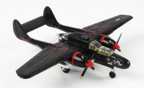 P-61 Black Widow Diecast AF1-0138 W/Stand Air Force 1 Smithsonian Scale 1:144