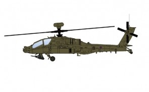 AH-64D Apache Joint Helicopter Command 4 Regiment AAC Afghanistan Hobby Master HH1208 scale 1:72