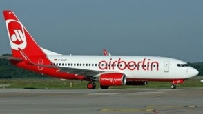 Air Berlin Boeing 737-100 Herpa Wings 534666 scale 1:500