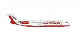 Air Berlin Fokker F-100 D-AGPK Herpa Wings die-cast 571203 scale 1:200