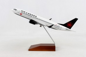 Air Canada Boeing 737-Max8 C-FTJV with stand Skymarks SKR5158 scale 1-130