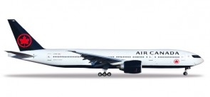 Air Canada Boeing 777-200 2018 livery C-FNNH Herpa 531801 scale 1:500