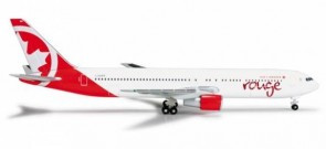 Air Canada Rouge Boeing 767-300 reg C-FMXC Herpa 524230-001 scale 1:500