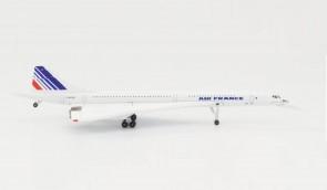 Air France Aerospatiale Concorde F-BVFB Herpa Wings die cast 532839-001 scale 1:500
