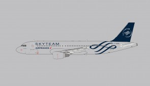 Air France Airbus A320 Sky Team livery F-GKXS die-cast Panda Model 202020 scale 1400