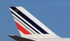 Air France Boeing 747-400 With gear and stand Skymarks SKR1070 scale 1:200