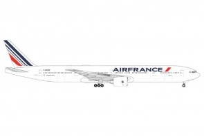 """Air France Boeing 777-300ER F-GSQF """"Papeete"""" 2021 new livery Herpa Wings 535618 scale 1:500"""