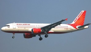 Air India Airbus A320 VT-EDD with gears and stand HG11069G Hogan scale 1:200