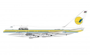 Air Namibia Boeing 747SP-44 V5-SPF with stand InfFight IF74SPSW0621P scale 1:200