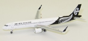 Air New Zealand Black - Leaf Airbus A321neo Reg# ZK-NNB Phoenix 11502 Die-cast Scale 1:400