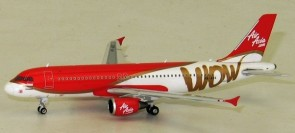 "AirAsia ""Indonesia"" Wow Airbus A320 Reg PK-AXS Phoenix 11386 Die-cast Scale 1:400"
