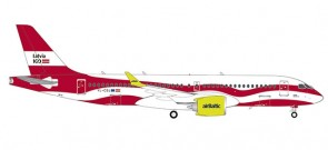 "airBaltic Airbus A220-300 YL-CSL (CS300) ""Latvia 100"" 559690 scale 1:200"