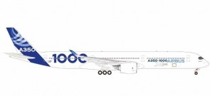 Airbus House A350 -1000 Blue tail Herpa Wings 559171 Scale 1:200