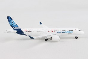 Airbus House Colors A320-300  (Bombardier CS300) Herpa die cast HE532822 scale 1:500